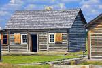 Historic Buildings Last Mountain Houses Provincial Park Saskatchewan Canada