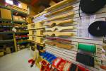 Stock photo of a display of boat accessories, Mississauga, Ontario, Canada.