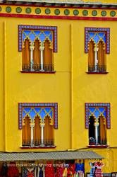 Facade of building outside Mezquita City of Cordoba Province of Cordoba Andalusia Spain