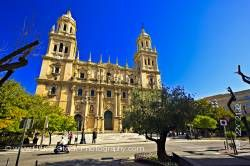 Cathedral of Jaen and Plaza Santa Maria Sagrario District City of Jaen Province of Jaen Andalusia