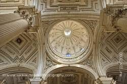 Dome interior of the Cathedral of Jaen Sagrario District City of Jaen Province of Jaen Andalusia