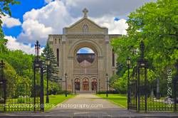 St. Boniface Cathedral French Quarter of St. Boniface Winnipeg Manitoba Canada