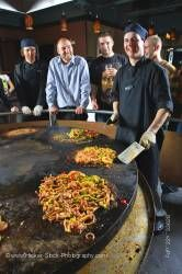 Chef Mongolie Grill World Famous Stirfry Restaurant Whistler Village British Columbia Canada