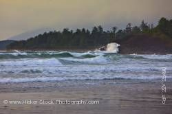 Cox Bay Pacific Ocean Clayquot Sound West Coast Vancouver Island British Columbia Canada