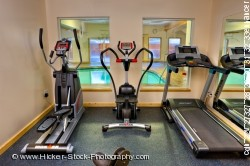 Exercise equipment Black Bear Resort & Spa Port McNeill Northern Vancouver Island Vancouver