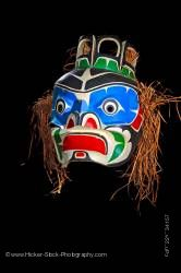 Mask by Native First Nation Artist Original West Coast Native Art Just Art Gallery in Port McNeill