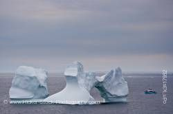Iceberg watching Iceberg Alley Atlantic Ocean Newfoundland Canada