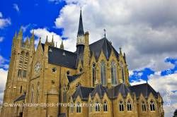 Architecture Our Lady of the Immaculate Church in the town of Guelph Ontario Canada