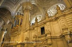 Interior of Cathedral of Jaen Sagrario District City of Jaen Province of Jaen Andalusia Spain