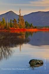 Late afternoon Kennedy Lake Clayoquot Sound Vancouver Island British Columbia Canada
