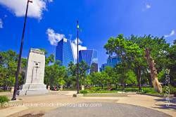 War Memorial Monument Victoria Park City of Regina Saskatchewan Canada