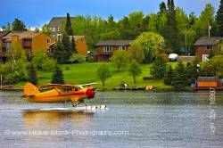 Norseman Bush Aircraft on Water Red Lake Ontario Canada