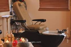 Pedicure spa chair Black Bear Resort & Spa Port McNeill Northern Vancouver Island Vancouver Canada