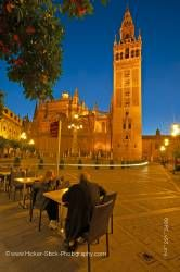 Seville Cathedral tower Santa Cruz District City of Sevilla Province of Sevilla Andalusia Spain