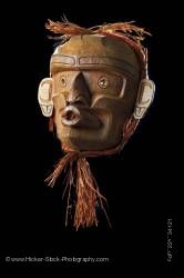 Wild Woman Native Mask Stan C Hunt First Nations Artist Vancouver Island British Columbia Canada