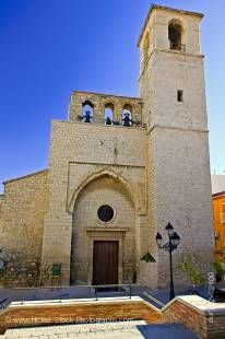 Stock photo of Iglesia de San Juan (church) in Plaza San Juan, San Juan District, City of Jaen, Province of Jaen, Andalusia (Andalucia), Spain, Europe.