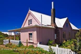 Stock photo of Fyffe House, Kaikoura, East Coast, South Island, New Zealand.