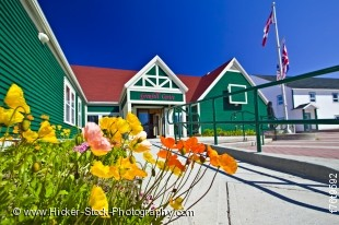 Stock photo of the Grenfell Historic Properties, Grenfell Interpretation Center, St. Anthony, Newfoundland, Canada.