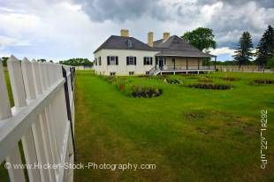 Stock photo of Big House, Lower Fort Garry - a National Historic Site, Selkirk, Manitoba, Canada.