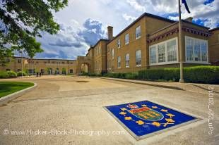 Stock photo of the Government House, City of Regina, Saskatchewan, Canada.