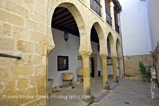 Stock photo of the Museo Arqueologico de Ubeda, Town of Ubeda - a UNESCO World Heritage Site, Province of Jaen, Andalusia (Andalucia), Spain, Europe.