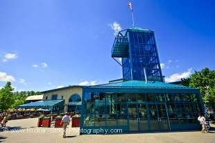 Stock photo of the Market and Tower at the Forks - a National Historic Site, City of Winnipeg, Manitoba, Canada.