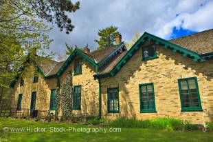 Stock photo of Woodside National Historic Site, the childhood home of prime minister William Lyon Mackenzie King, Kitchener, Ontario, Canada.