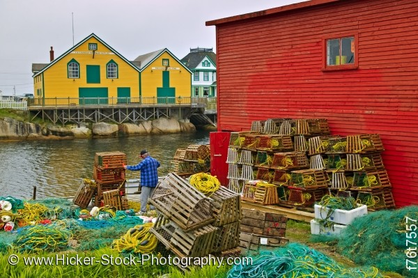 Stock photo of Barbour Living Heritage Village Newfoundland Canada