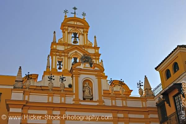 Stock photo of Basilica de la Macarena Macarena district City of Sevilla Province of Sevilla Andalusia Spain