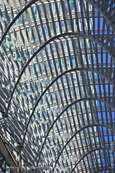 Stock photo of Modern architecture at Brookfield Place downtown Toronto
