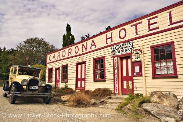 Stock photo of Cardrona Hotel Crown Range Road Central Otago South Island New Zealand
