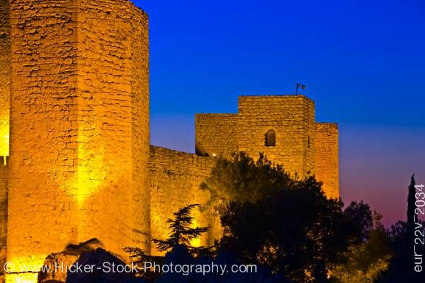 Stock photo of Castle Castillo de Santa Catalina City of Jaen Province of Jaen Andalusia Spain Europe