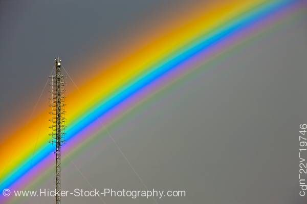 Stock photo of Detailed rainbow tower city of Regina Saskatchewan Canada
