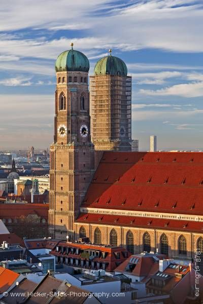 Stock photo of Frauenkirche aka Domkirche zu Unserer Lieben Frau (Cathedral of our Blessed Lady) City of Munich