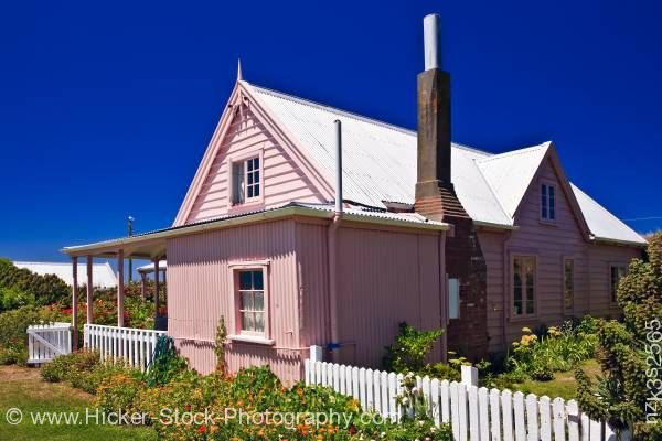 Stock photo of Historic Fyffe House Kaikoura East Coast South Island New Zealand