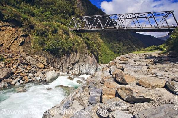 Stock photo of Gates of Haast Mt. Aspiring National Park Haast Highway Haast Pass West Coast South Island