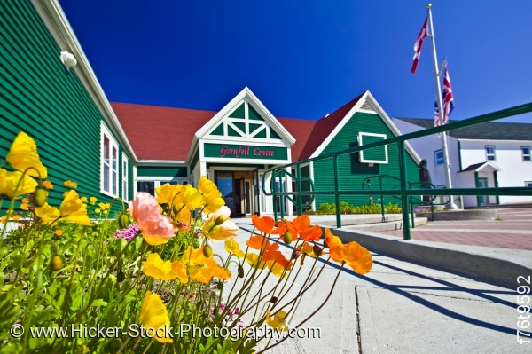 Stock photo of Grenfell Historic Properties Grenfell Interpretation Center St Anthony Newfoundland Canada