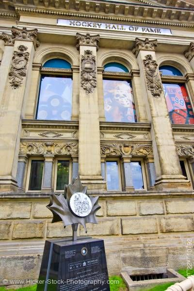 Stock photo of Hockey Hall of Fame building Toronto Ontario Canada