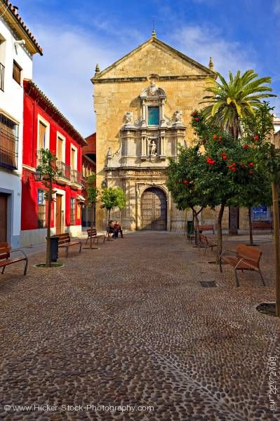 Stock photo of Iglesia de San Francisco church City of Cordoba Province of Cordoba Andalusia Spain Europe