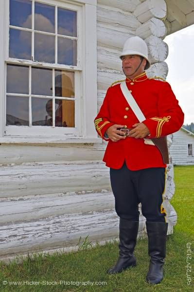 Stock photo of Interpreter Jailhouse at Fort Walsh National Historic Site