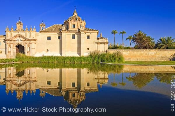 Stock photo of Jardin de la Cartuja City of Sevilla Province of Sevilla Andalusia Spain