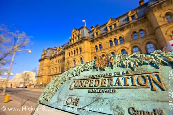 Stock photo of Langevin Block Ottawa Ontario Canada