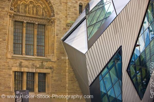 Stock photo of Royal Ontario Museum Lee-Chin Crystal Toronto
