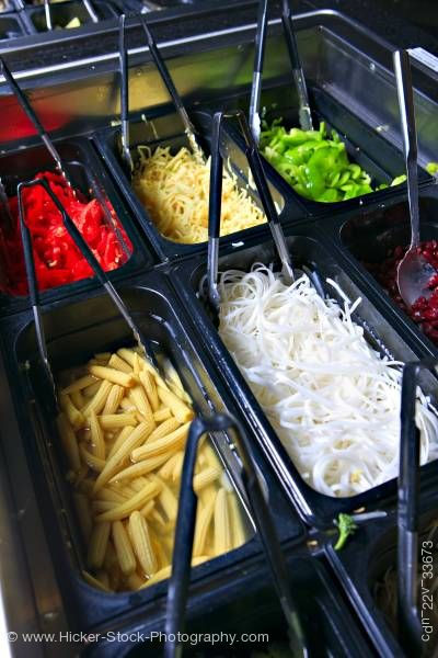 Stock photo of Vegetables Mongolie Grill World Famous Stirfry Restaurant Whistler British Columbia