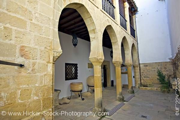 Stock photo of Museo Arqueologico de Ubeda Town of Ubeda Province of Jaen Andalusia Spain Europe