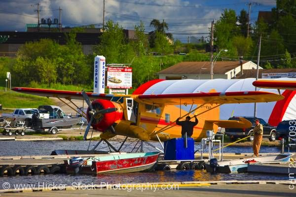 Stock photo of Norseman Aircraft Chimo Air Service Red Lake Ontario Canada