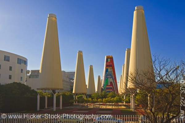 Stock photo of Pabellon de C.E.E. site of Expo 1992 Isla de la Cartuja City of Sevilla Spain