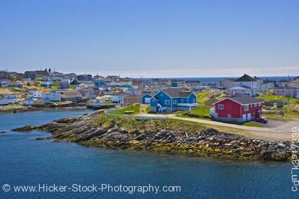 Stock photo of Port aux Basques Newfoundland Canada