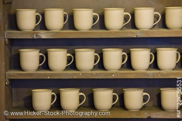 Stock photo of Old Pottery exhibit