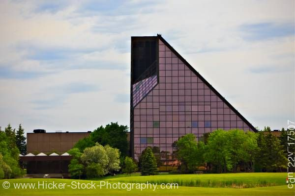 Stock photo of Royal Canadian Mint Building in the City of Winnipeg in Manitoba Canada